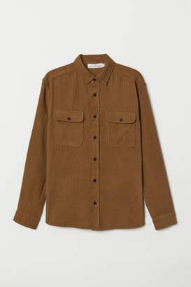 H&M Corduroy Shirt - Beige