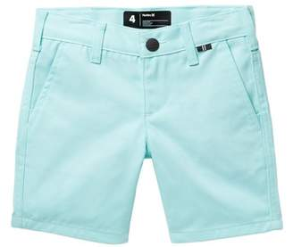 Hurley One & Only Twill Shorts (Little Boys)