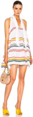 Lisa Marie Fernandez Mini Babydoll Dress $965 thestylecure.com