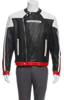 Givenchy Leather Motocross Jacket