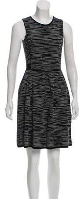 Missoni Knit Sleeveless Knee-Length Dress