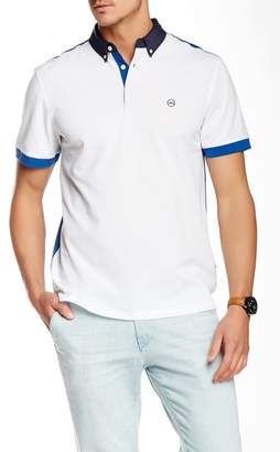 AG Jeans Colorblock Polo