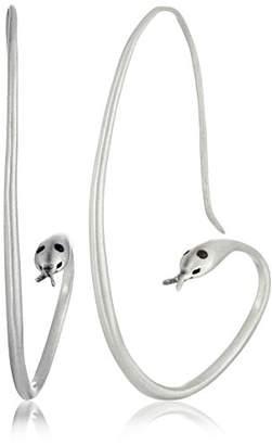 Satya Jewelry Snake Hook Earrings