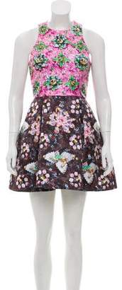 Mary Katrantzou Sleeveless Printed Dress