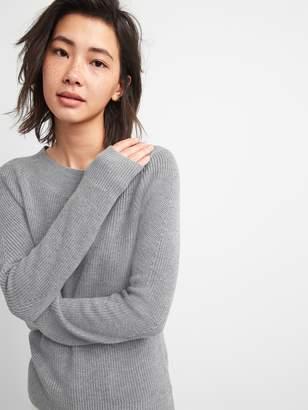 Gap Wide Boatneck Pullover Sweater in Merino Wool-Blend