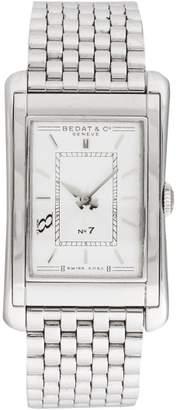 Bedat & Co No7 Stainless Steel Beige Dial Quartz 26 x 42mm Men's Watch