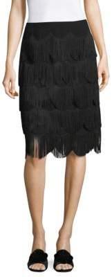 Marc Jacobs Knee-Length Fringe Skirt