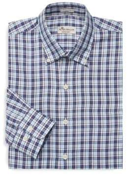 Peter Millar Soft Checkered Dress Shirt