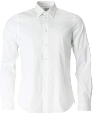 Paul Smith Tailored Fit Contrast Cuff Poplin Shirt