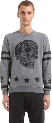 Hydrogen Printed Cotton Sweatshirt