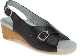 David Tate Noble Perforated Slingback Sandal
