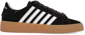 DSQUARED2 Rapper's Delight Striped Suede Sneakers