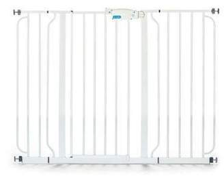 Regalo Wall Safe Extra Wide Walk Through Safety Gate