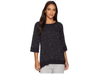 Donna Karan Short Sleeve Top