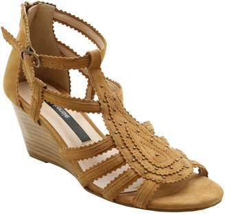 Kensie Open-Toe Wedge Sandals - Sisha