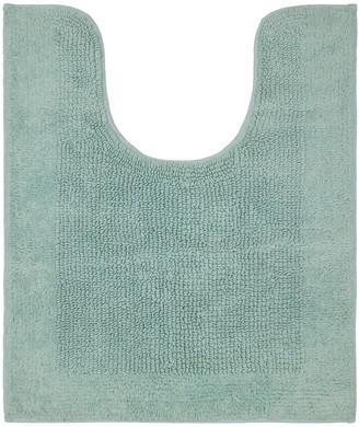 Sonoma Goods For Life SONOMA Goods For Life Cotton Reversible Solid Border Bath Contour Rug