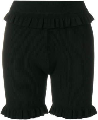 Kenzo ribbed knit shorts