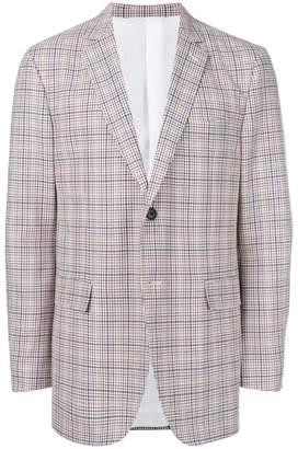 Calvin Klein checked blazer