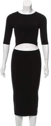 Michael Kors Cutout Midi Dress