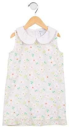 Baby CZ Girls' Floral A-Line Dress