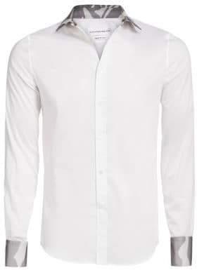 Alexander McQueen Woven Cotton Shirt