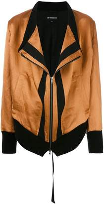 Ann Demeulemeester shift zipped jacket