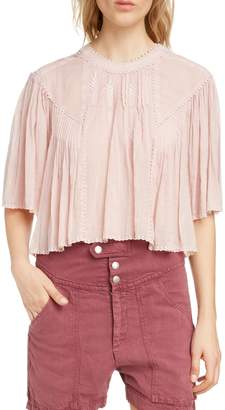 Etoile Isabel Marant Algar Embroidered Top