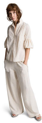 Max Studio linen and cotton trousers
