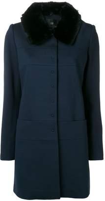 Steffen Schraut detachable collar coat
