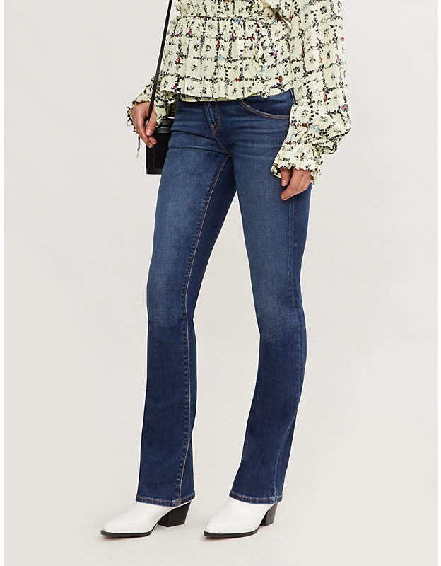 Jeans Beth Baby bootcut mid-rise jeans