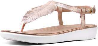 FitFlop Feather Tia Leather Sandals