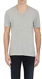 James Perse Men's V-Neck T-Shirt-Light Gray