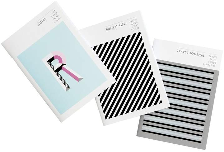 Type and Story - The Traveller Collection Notebook Set