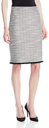 Ellen Tracy Women's Petite Size a-Line Skirt