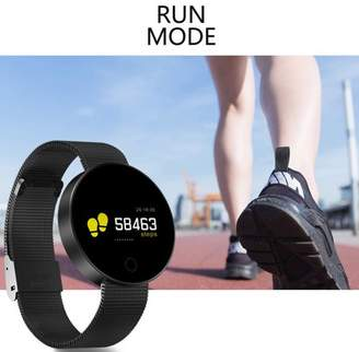 Samsung KINGSLIM Bluetooth Waterproof Smart Watch Touch Screen Phone Mate For IOS Android iPhone Black)