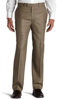 Perry Ellis Men's Portfolio Classic-Fit Flat-Front Sharkskin Pant