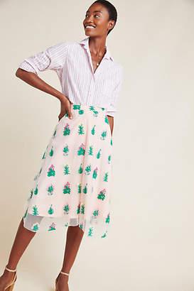 0640a49ee Eva Franco Juniper A-Line Skirt