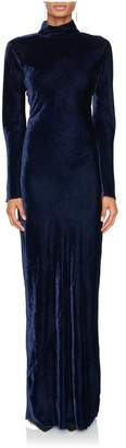 Nili Lotan Genevive Velvet Gown