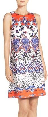 Betsey Johnson Print Scuba Shift Dress $128 thestylecure.com