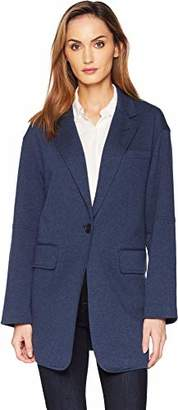 Kenneth Cole Women's Pebble Jersey Oversized Jacket