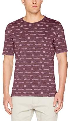 Colours&Sons Men's T-Shirt, Arrow Print,X