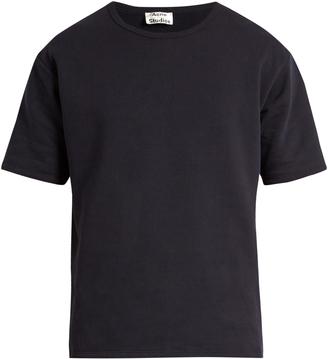 ACNE STUDIOS Niagra fleece-lined cotton T-shirt $180 thestylecure.com
