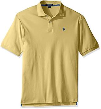 U.S. Polo Assn. Men's Big and Tall Solid Interlock Polo Shirt