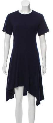 Proenza Schouler Wool-Blend Fit & Flare Dress