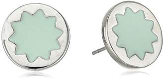 House Of Harlow Enamel Sunburst Stud Earrings