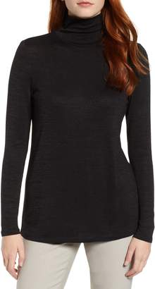 Nic+Zoe Every Occasion Funnel Neck Top