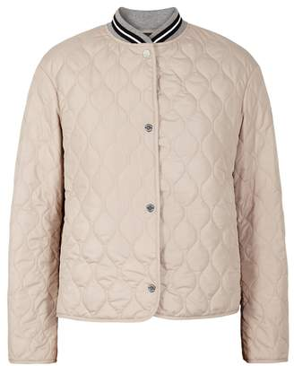 Belstaff Culmore Stone Quilted Shell Jacket