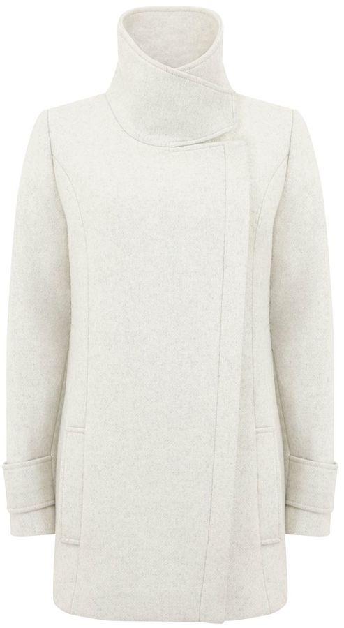 Winter White Coat - ShopStyle Australia