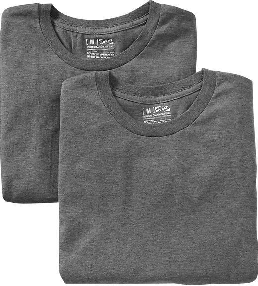 Men's Crew-Neck Undershirt 2-Packs