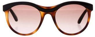 Etro Round Gradient Sunglasses